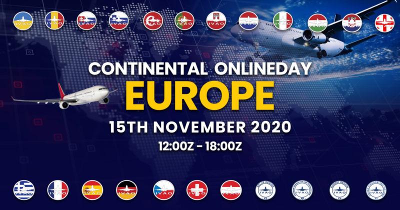 [15 NOV | 12z – 18z] [HQ+EUROPE] Continental Online Day Europe